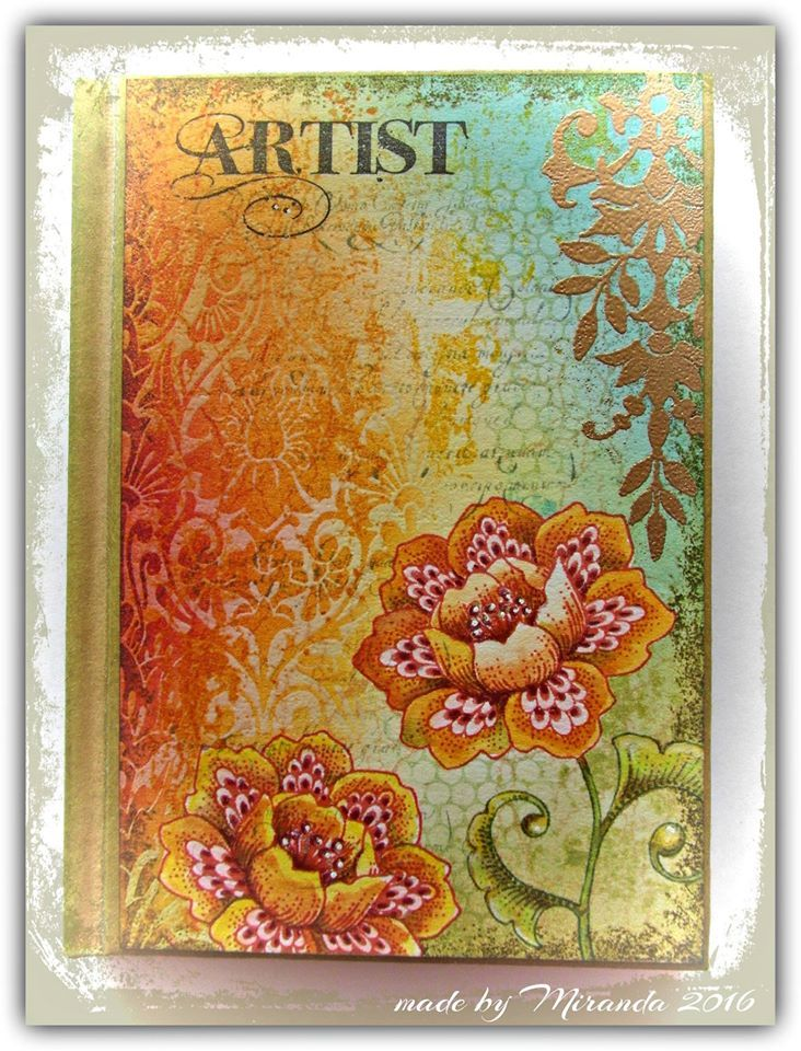 Journal cover by Miranda