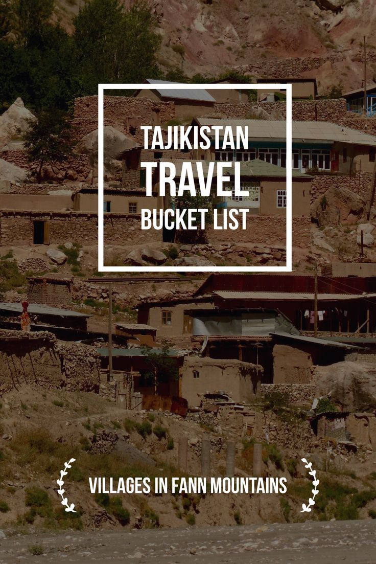 Make sure to visit some villages in Fann mountains, Tajikistan, Central Asia. Tajikistan Travel Bucket List: Explore Central Asia with Kalpak Travel