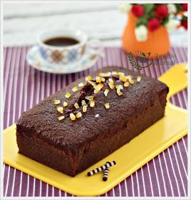 Anncoo Journal - Come for Quick and Easy Recipes: Chocolate Orange Loaf Cake (Nigella Lawson)
