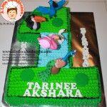 Birds customised cake. A Little CakeShoppe Singapore