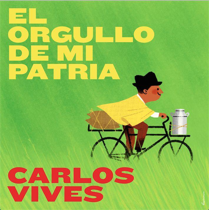 Carlos Vives a los ciclistas colombianos: 'El orgullo de mi patria'
