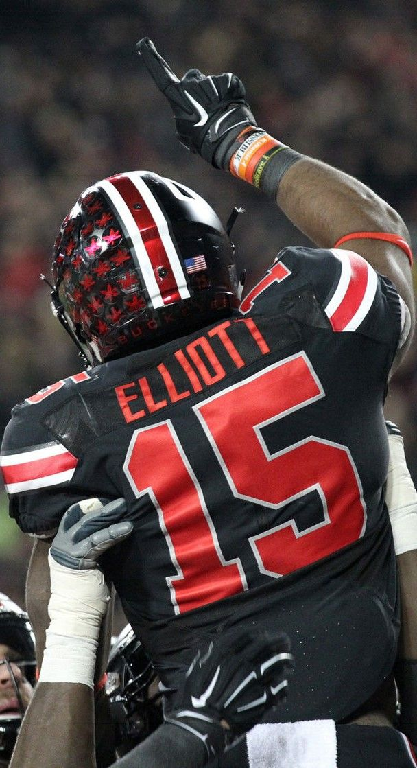 "Ezekiel "" Zeke "" Elliott #15 } **** Ohio State Football #GoBucks #Blackout"