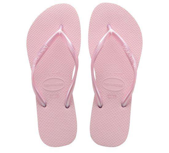 Havaianas Slim - Slippers - Volwassenen - Lichtroze - Maat 41