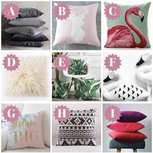 Pick your favourite cushion and then check out our blog on our site elmandblue.com to see what your decision says about you. #elmandblue #cushions #quiz Lets connect on facebook: facebook.com/emmatellesyceo