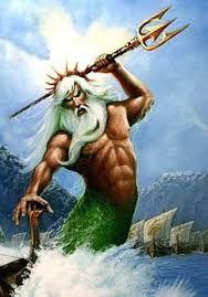 Griekse god - Poseidon Hij heerste over de zee, de wateren en hun goden.