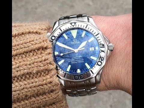 Omega Seamaster Professional Chronometer ref. 2255.80.00 Electric Blue - YouTube