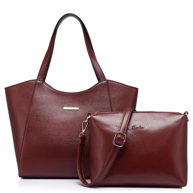 Zipper Composite Handbag