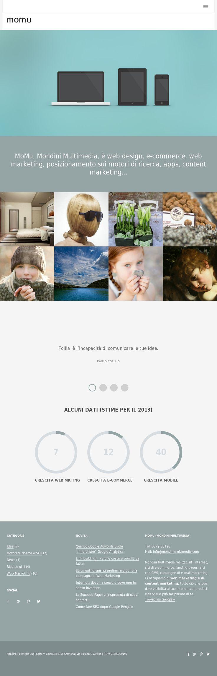 New MoMu Website 'http://www.mondinimultimedia.com/'