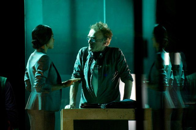 Still of Danny Boyle and Rosario Dawson in Trance (2013)
