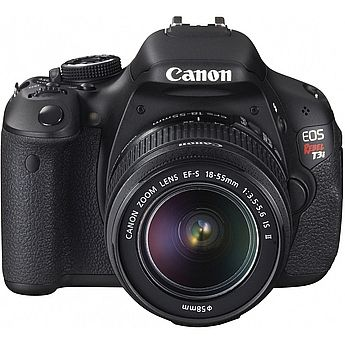 Canon EOS Rebel T3i Digital Camera Body W/ Canon 18-55 IS lens: Digital Outlets