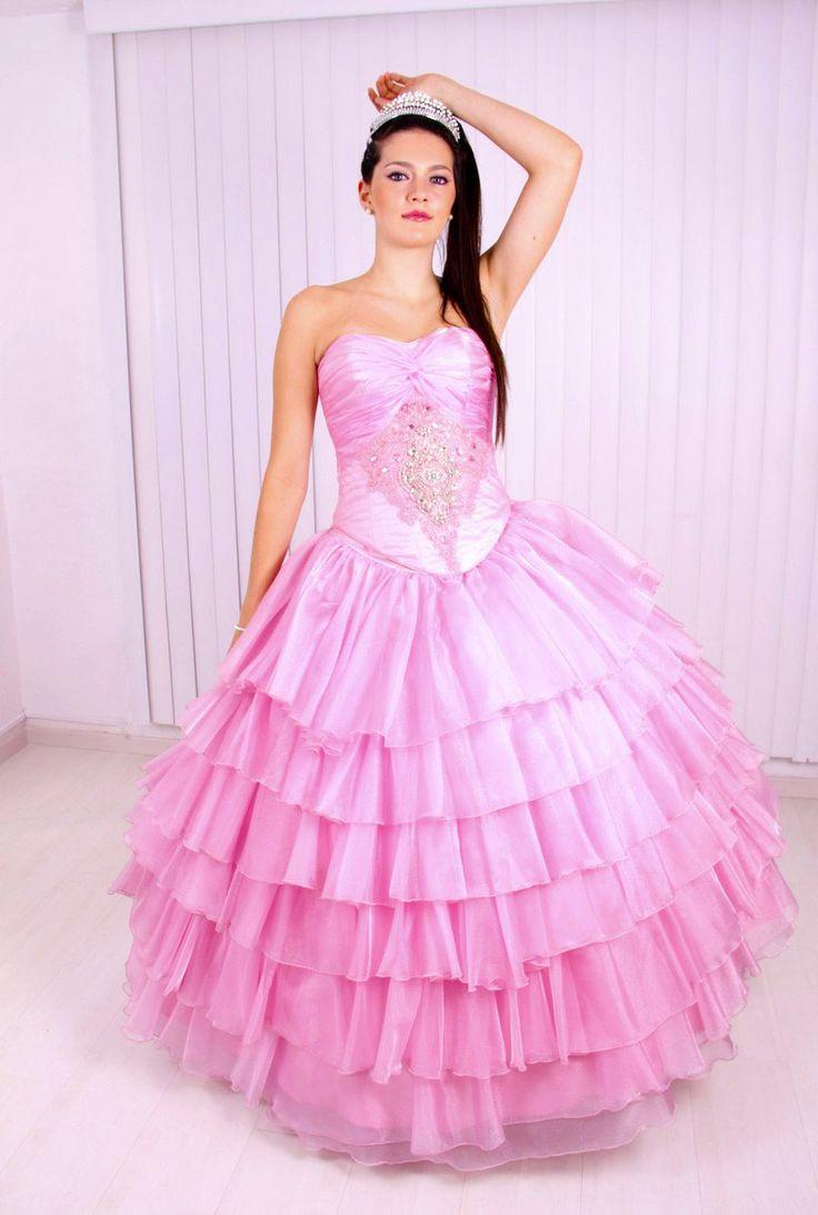 40 Vestidos de 15 años largos y cortos en color rosa   Vestidos Glam