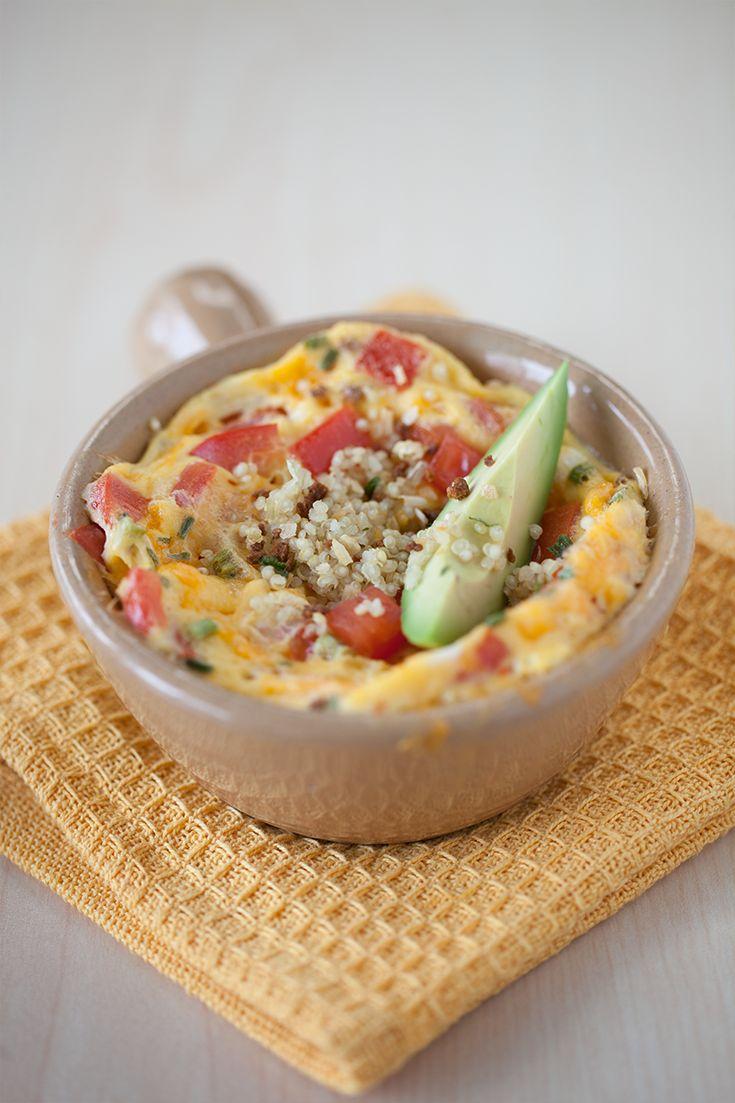 #Epicure Quinoa Scramble in a Cup #portioncontrol