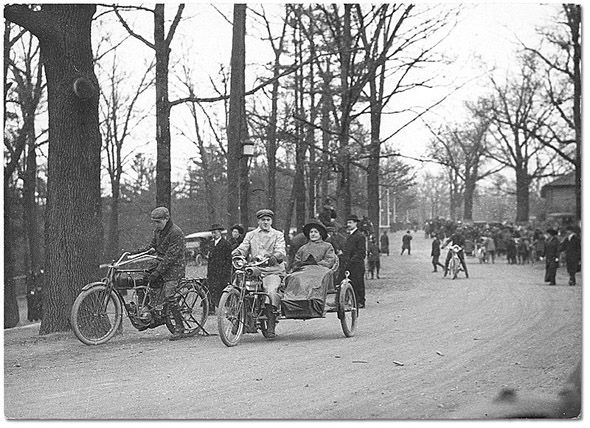 High Park, Toronto, 1904 looked slightly different when we visited today, Easter Sunday 2014
