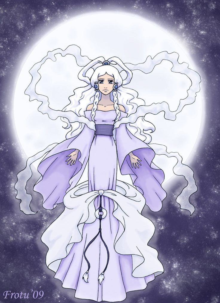 Princess Yue from Avatar: The Last Airbender  ~The Moon Spirit by ~Frotu on deviantART