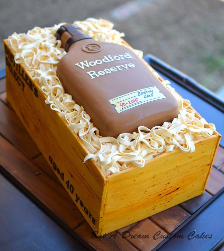 Woodford Reserve Whiskey Cake!