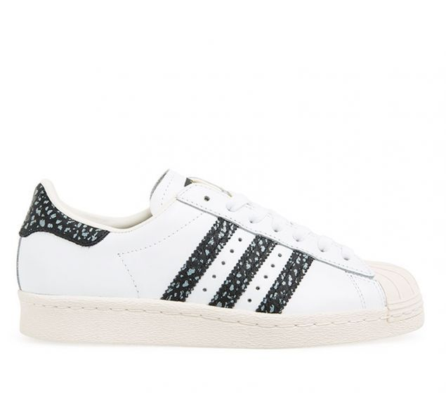 Adidas Superstar 80s | White Vapour Green Off White | Platypus Shoes