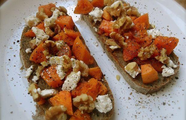Pompoen-walnoot brood/cracker