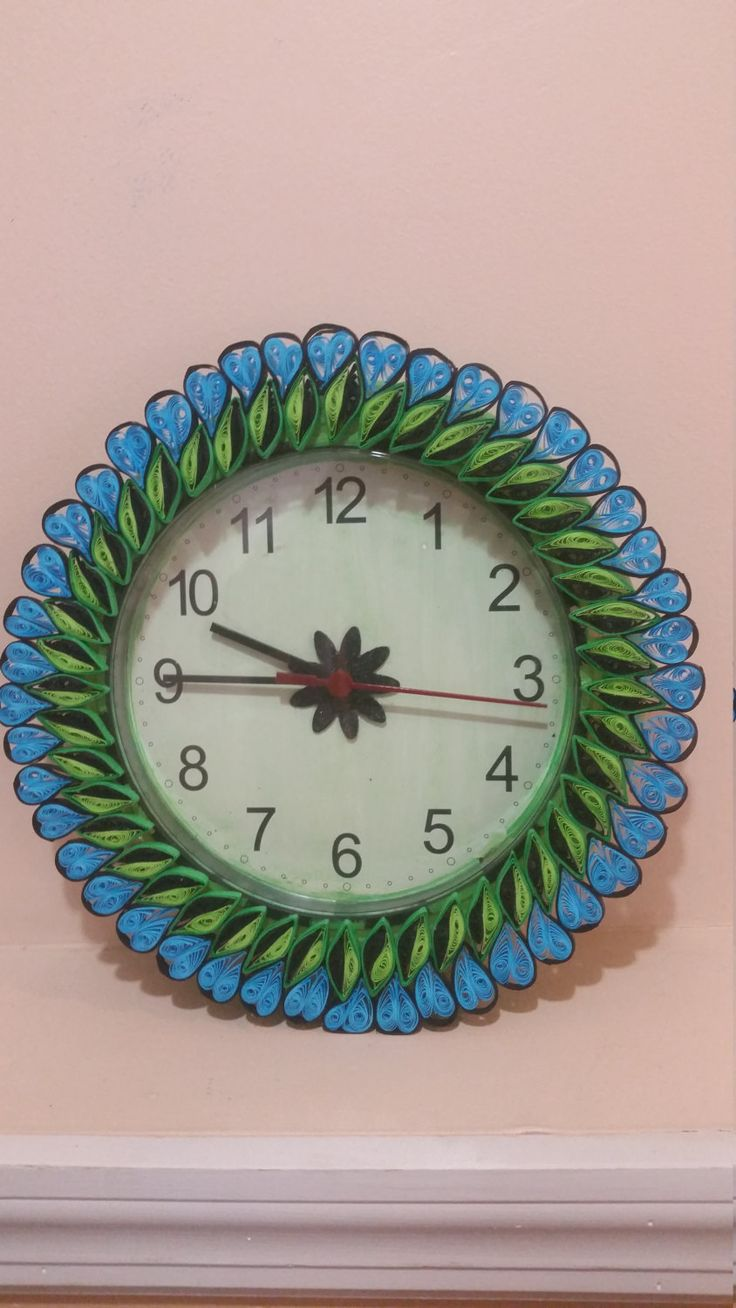 91 best Quilling - clock images on Pinterest   Quilling ...