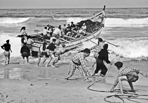 Artur Pastor entrada ao mar nazare barca eulalia