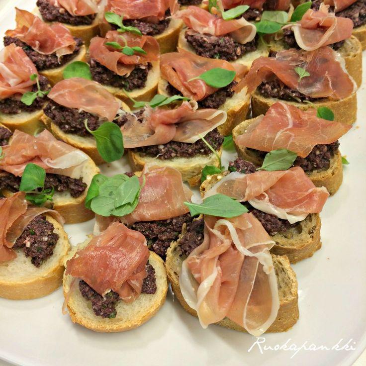 Ruokapankki: Tapenadetahna #ruokapankki #ruokablogi #tapenade