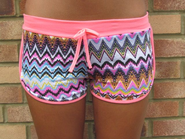 Neon Shorts Pink, £7.00