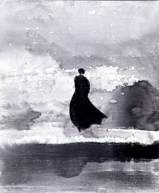 Femme flottante' (Floating Woman), 2011 - Gao Xingjian (b. 1940)