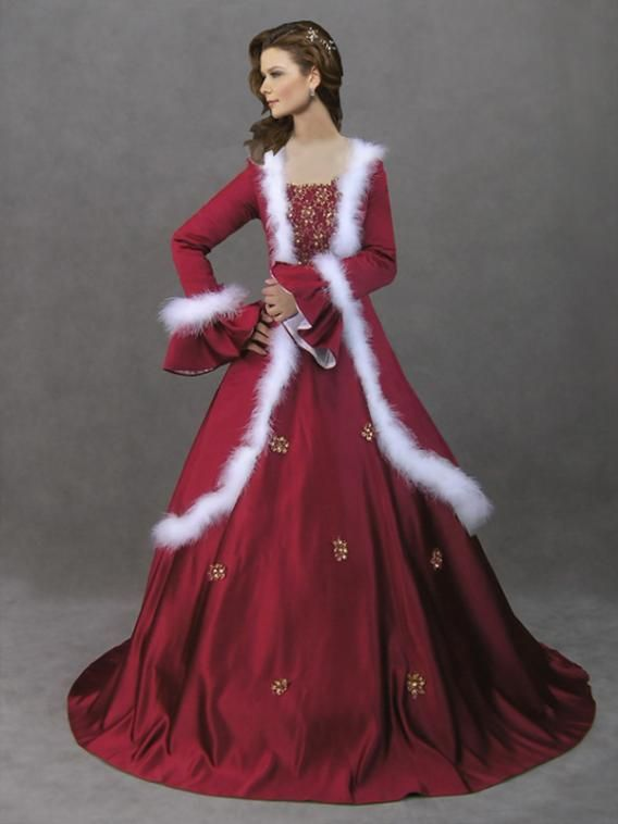 125 best 16th-19th Century Christmas Gowns images on Pinterest ...