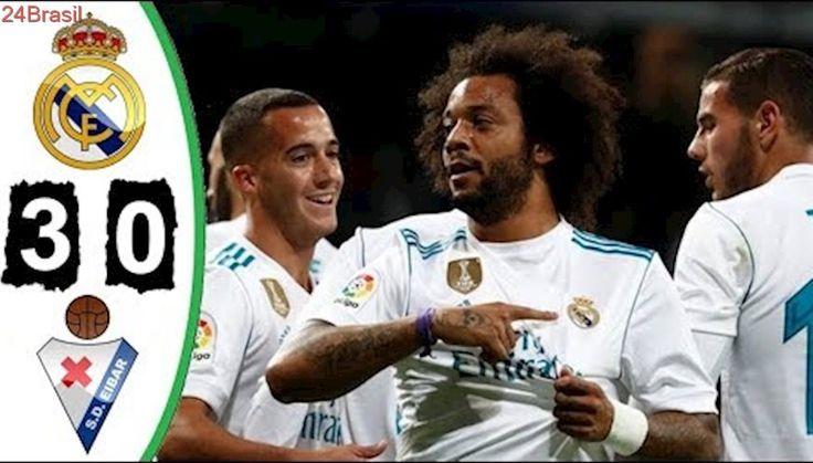Real Madrid 3 x 0 Eibar - Melhores Momentos - Campeonato Espanhol 22/10/2017 HD