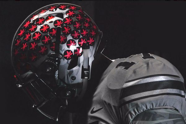 ohio state grey uniforms | Ohio State Reveals All-Gray Alternate Uniforms for Penn State Game - College Sports Only