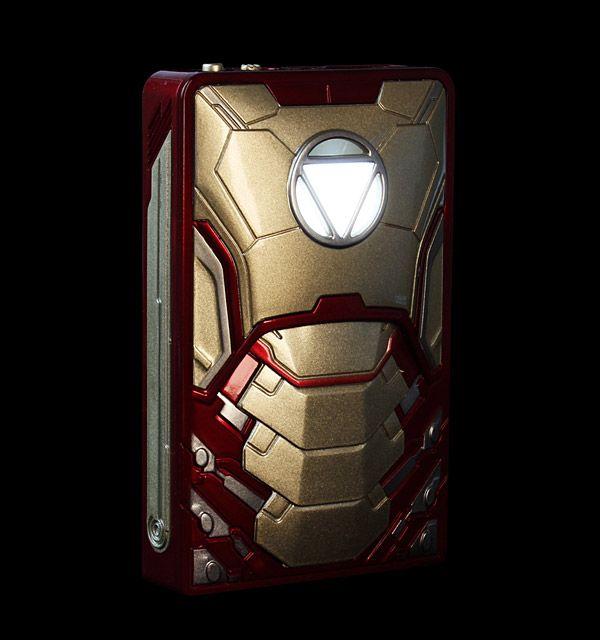 Carregador Iron Man oferece um 'reator Arc' pra carregar seus gadgets e emite o som da armadura