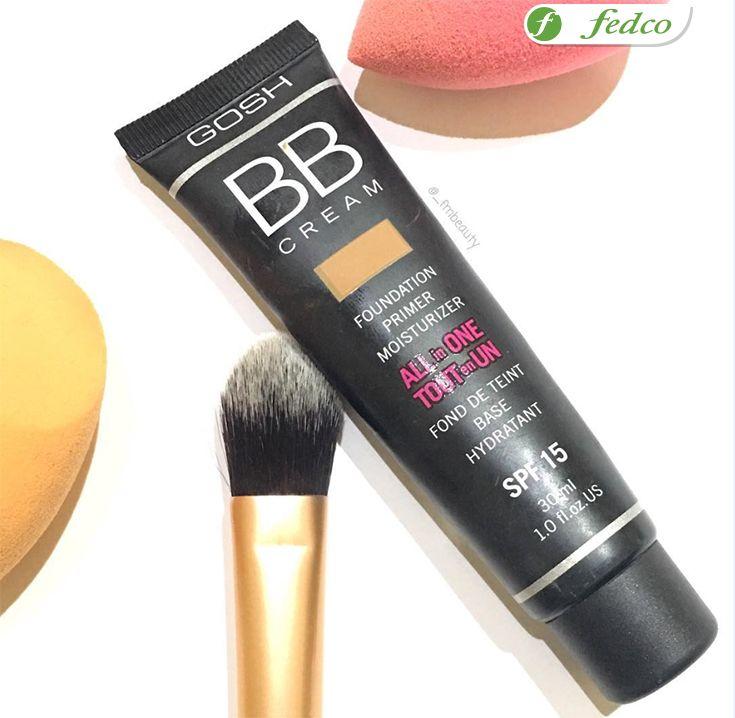 Aquí te dejamos los pasos para que conviertas el Gosh BB Cream corrector de piel en el mejor amigo de tu piel: 1. Aplica el color más claro alrededor y debajo de la zona de los ojos para corregir las ojeras y otras áreas oscuras en la piel.  2. Aplica el rotulador con gas en los pómulos y debajo de las cejas.  3. El color que coincida con tu tono de piel, úsalo como corrector
