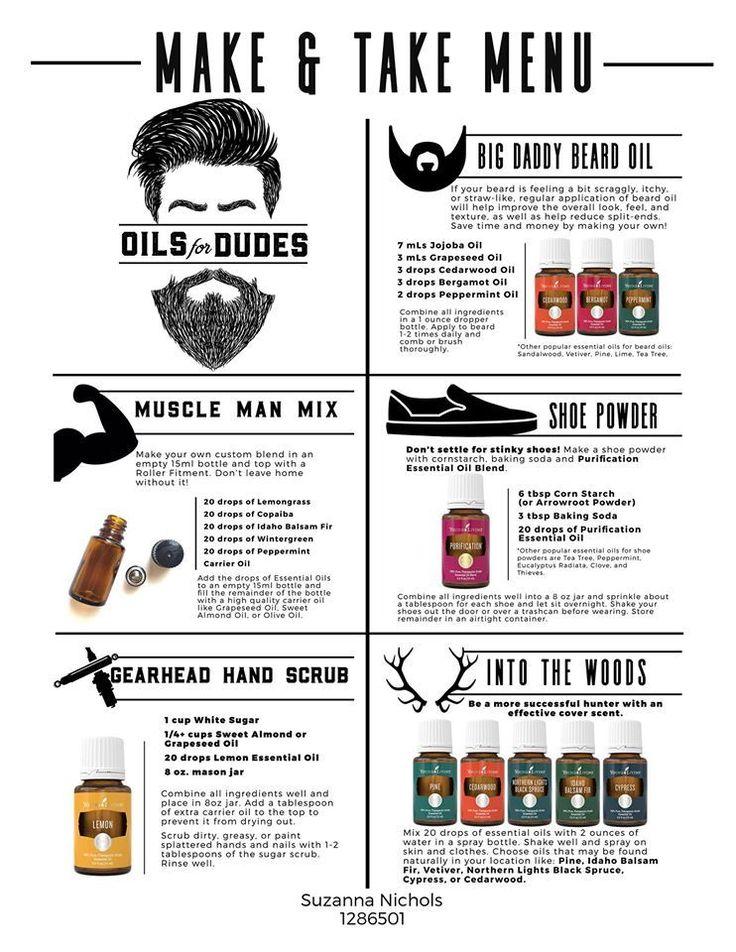 Young Living Essential Oils: Men