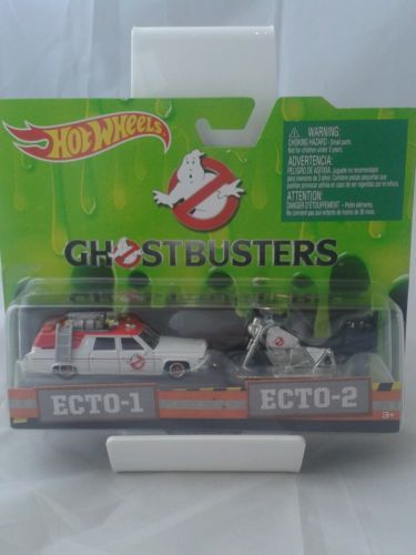 HOT-WHEELS-GHOSTBUSTERS-ECTO-1-ECTO-2-set-1-64-retro-nostalgia-pop-culture-2015