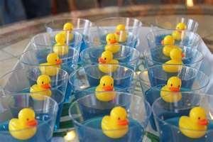 手机壳定制shoes online india shopping Blue jello with a rubber duck in a clear glass Great for baby shower