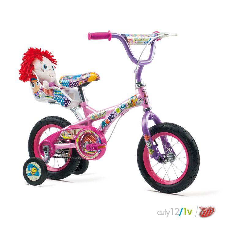 Bicicletas Mercurio Modelo Cuty12 MTB/Recreación Bicicleta para niñas #bikes #bicicletas #bicicletasmercurio https://www.facebook.com/BicicletasMercurio