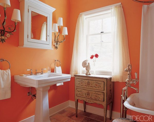 Paint Small Bathroom best 25+ orange bathroom paint ideas on pinterest | diy orange