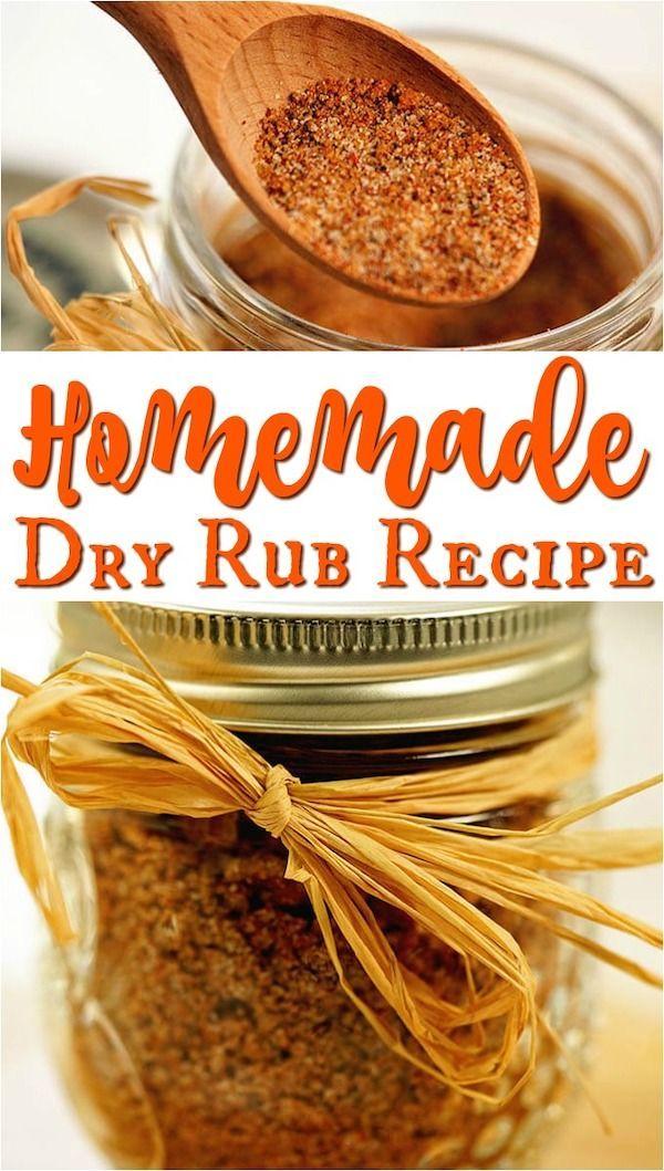 Homemade Dry Rub for Ribs
