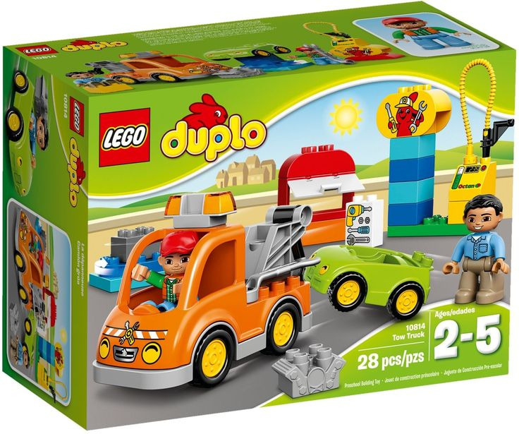 LEGO 10814 DUPLO TOW TRUCK DUPLO