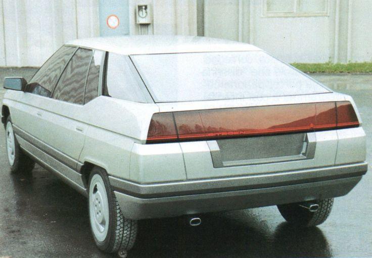 OG | 1989 Citroën XM | Full-size clay model styled by Bertone