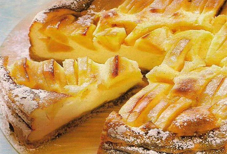 Volt otthon egy kis alma, készített egy kevert tésztát és káprázatos sütemény lett belőle!