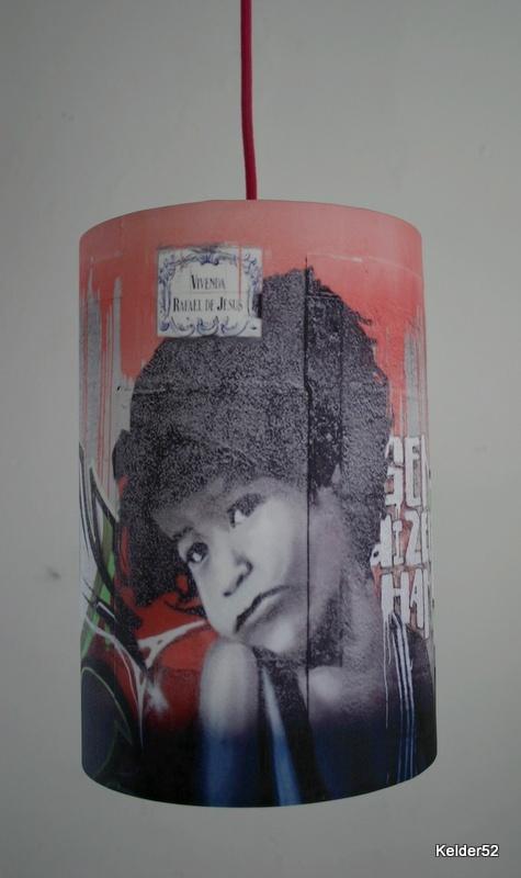 Lampenkap Graffiti Kid