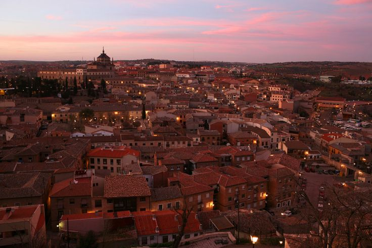Travel Photography Spain, Toledo, Sunset
