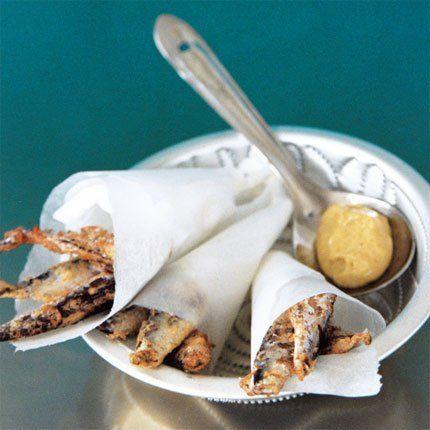 fried, lightly, with aioli