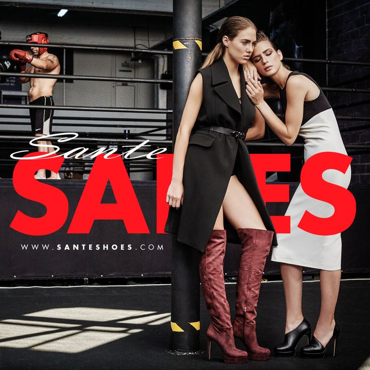 Winter 2016 SALES #SanteMadeinGreece Available in stores & online: www.santeshoes.com