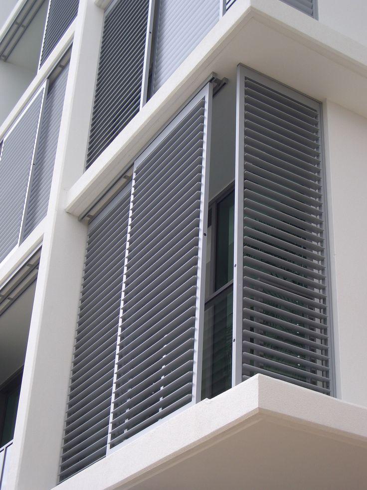 Exterior Shutter Enclosures The Shade Shop Balcony