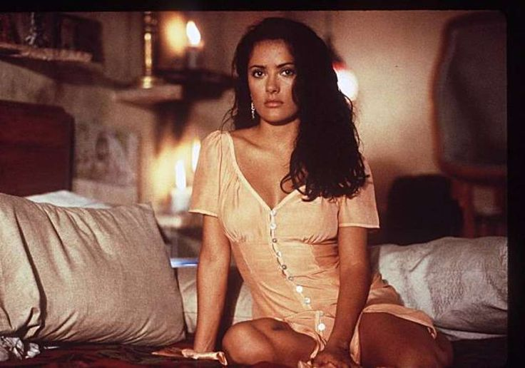 """Salma Hayek, a soap opera star in her native Mexico, beat out """"several blond…"""