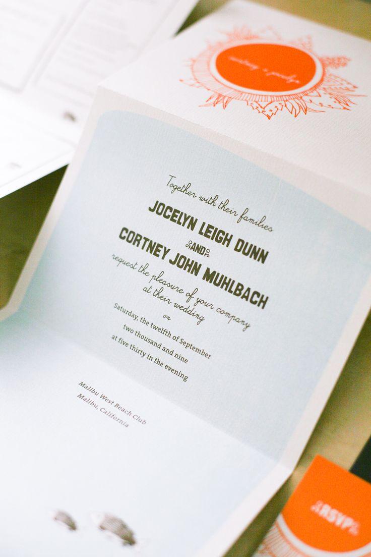 indian wedding invitations california%0A BeachInspired Wedding Invitations