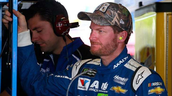 Dale Jr says retiring announcement took the pressure off  -  April 29, 2017:          Dale Earnhardt Jr. says the pressure is gone, not only about his future, but also his results.