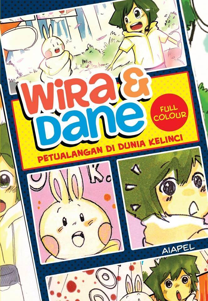 (Komik) Wira & Dane, Petualangan di Dunia Kelinci (Full color) - Aiapel.
