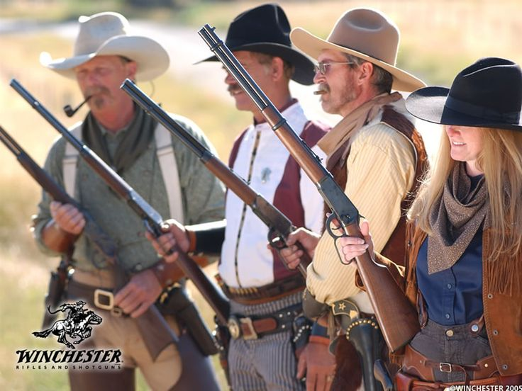 Cowboy action shooting is a growing hobby accross America.